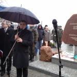 Пам'ятник жертвам голодомору у Любліні