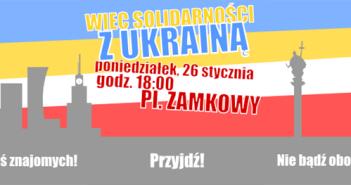 Wiec Solidarności z Ukrainą