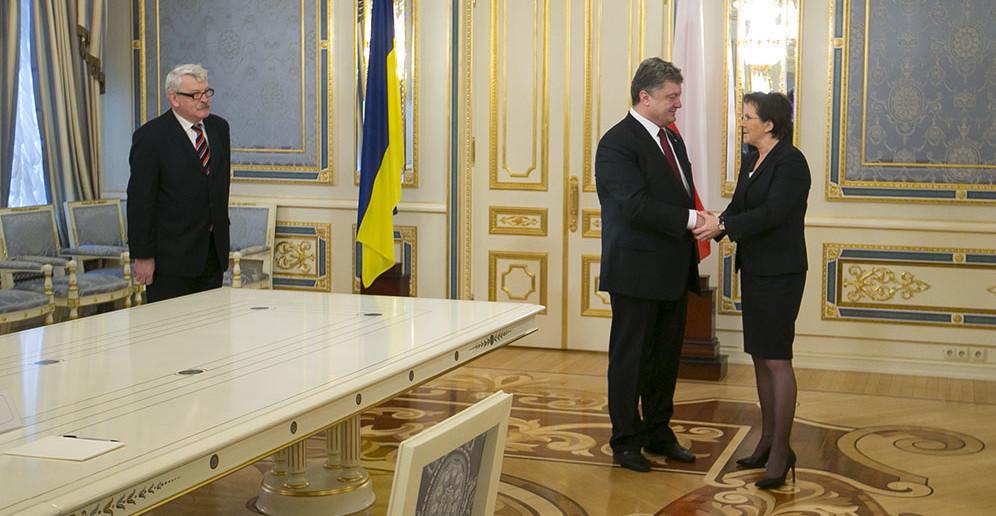 Візит прем'єр-міністра Польщі Еви Копач в Україну. Фото: Maciej Śmiarowski / KPRM