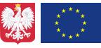 Godło RP i Flaga UE