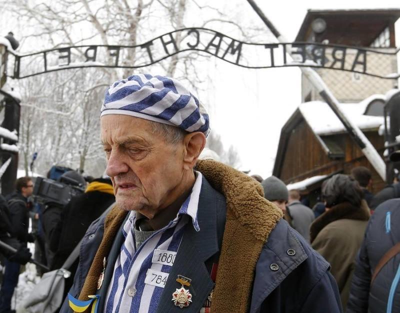 Ігор Малицький – харківський професор та колишній в'язень концтабору. Фото: Reuters