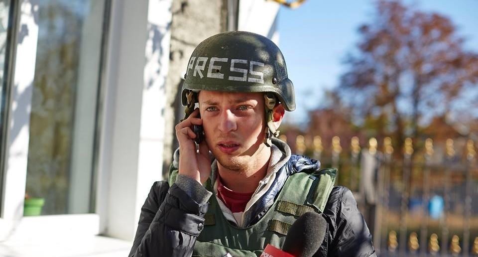 Павел Пеньонжек у зоні АТО Фото: Tomas Rafa