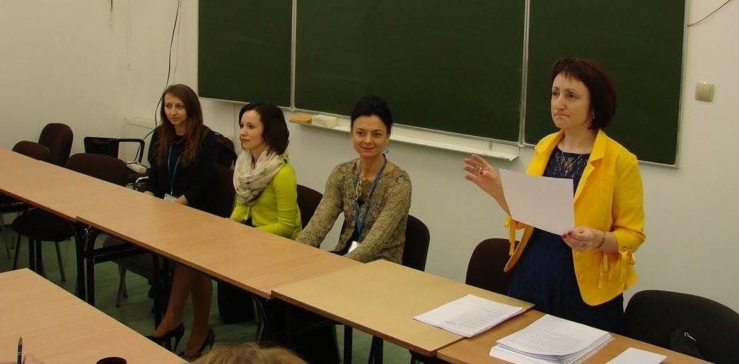 Оксана Баранівська готова й  надалі проводити мовний конкурс. Фото з facebook-сторінки UJ