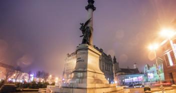 Пам'ятник Адаму Міцкевічу у Львові. Фото: Juanedc/ flickr