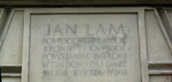 Меморіальна дошка Яну Ляму. Фото: wikiwand.com