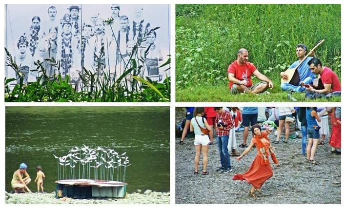 Фестиваль Артполе у с. Уніж у 2012 та 2013 роках.