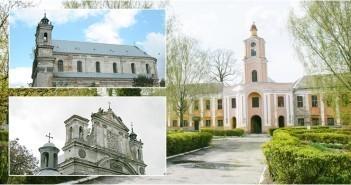 Олика. Колегіата Святої Трійці та Замок Радзівілла. Фото з commons.wikimedia.org