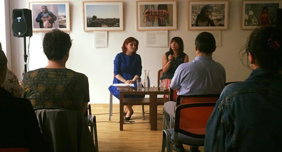 Зустріч із Маріанною Кіяновською в Українському домі у Варшаві
