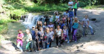 Wodospad na rzece Jeleń