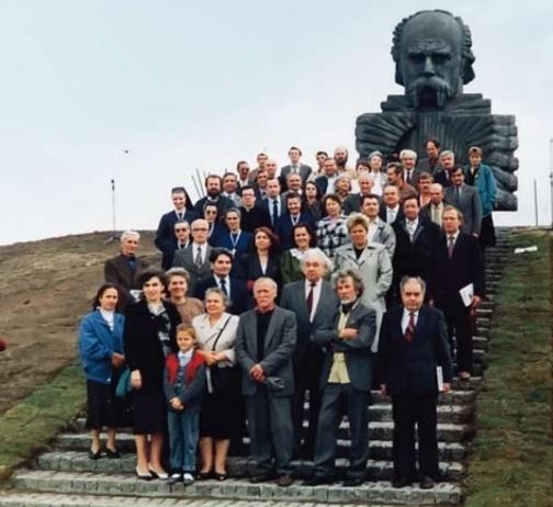 22 вересня 1991 р. Відкриття пам'ятника Т. Шевченку у Білому Борі (Західнопоморське воєводство). Фото з архіву «Нашого слова»