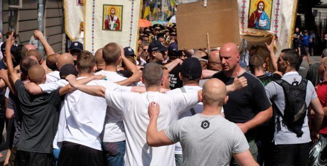 Нападом на учасників релігійної ходи. Фото зі сторінки expres.ua