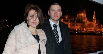 Олег Мілінський з дружиною. Фото з архіву Мілінських.