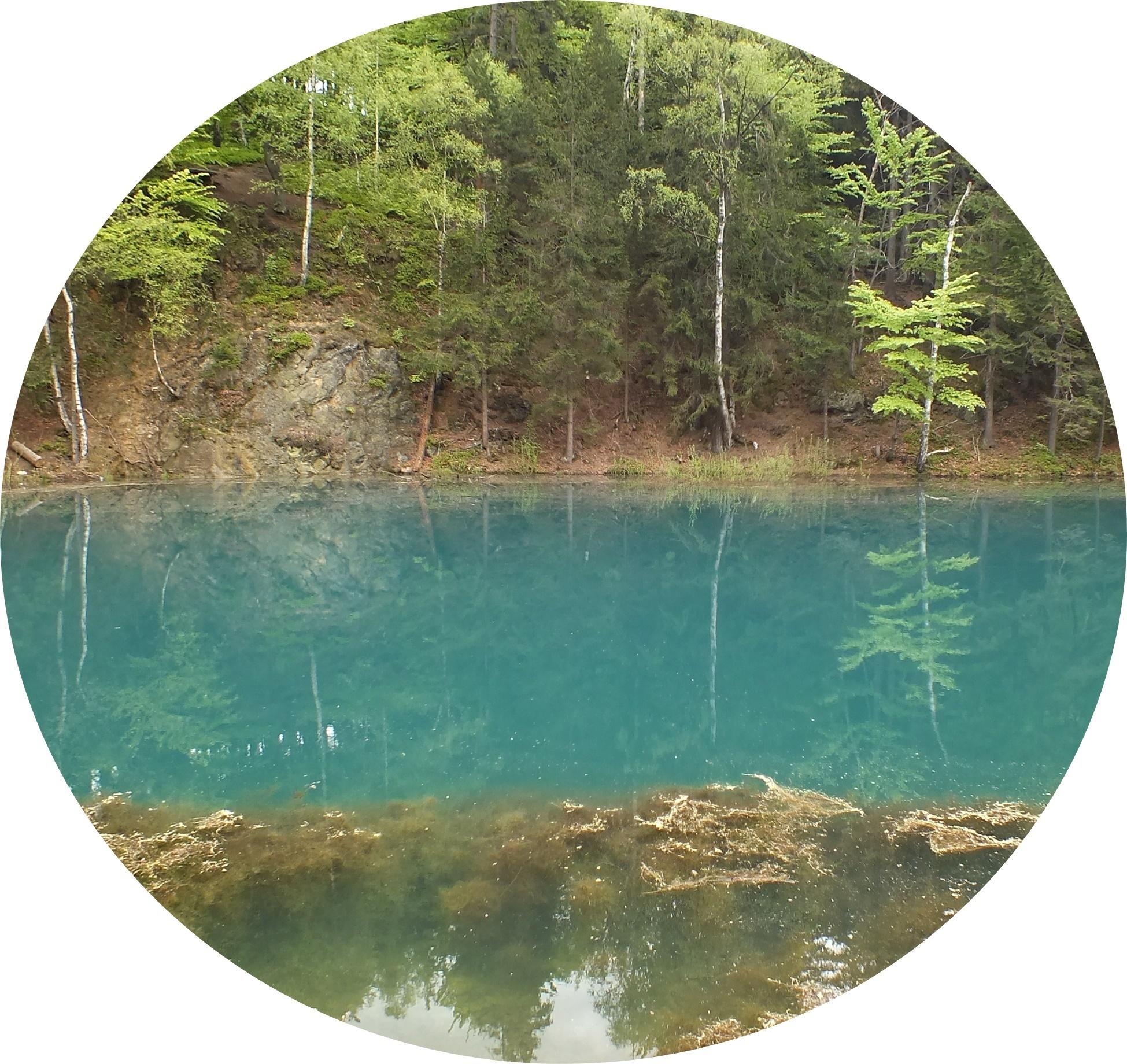 kolorowe jeziorko