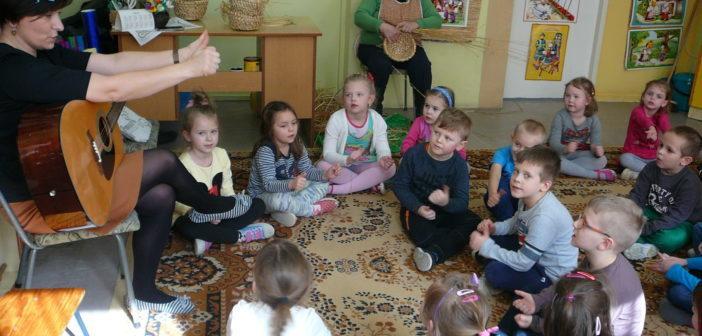 Заняття з української мови в садку № 9 у Більську