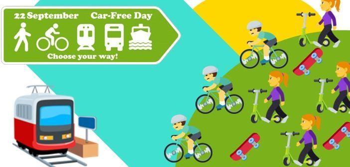 Безплатний проїзд у громадському транспорті. 22 вересня — День без автомобілів.