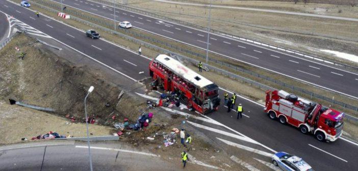 З лікарні виписали всіх постраждалих в ДТП автобуса у Польщі